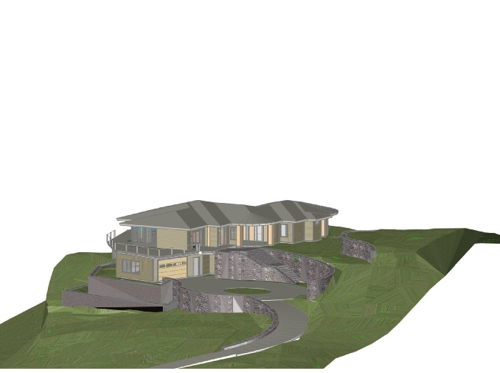 Hilltop Home Elevation