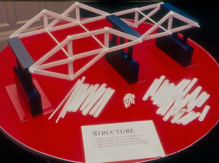Truss Bridge Game for Pittburgh History and Landmarks Exhibit